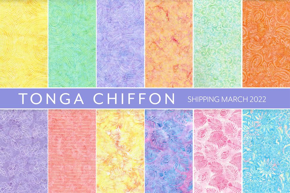TONGA CHIFFON