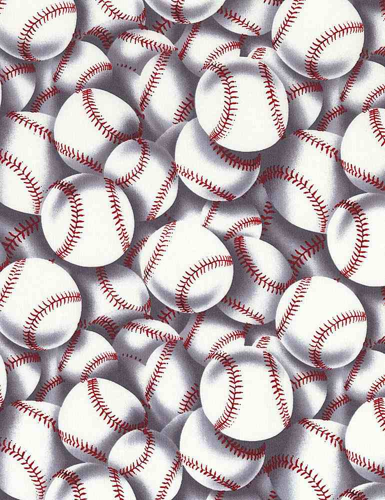 SPORT-C2159 / WHITE / PACKED BASEBALLS
