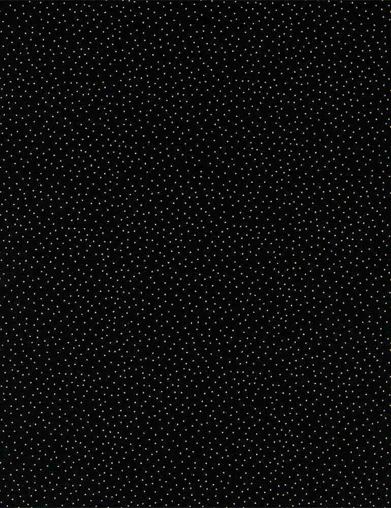 DOT-CM9528 / BLACK / METALLIC PIN DOTS