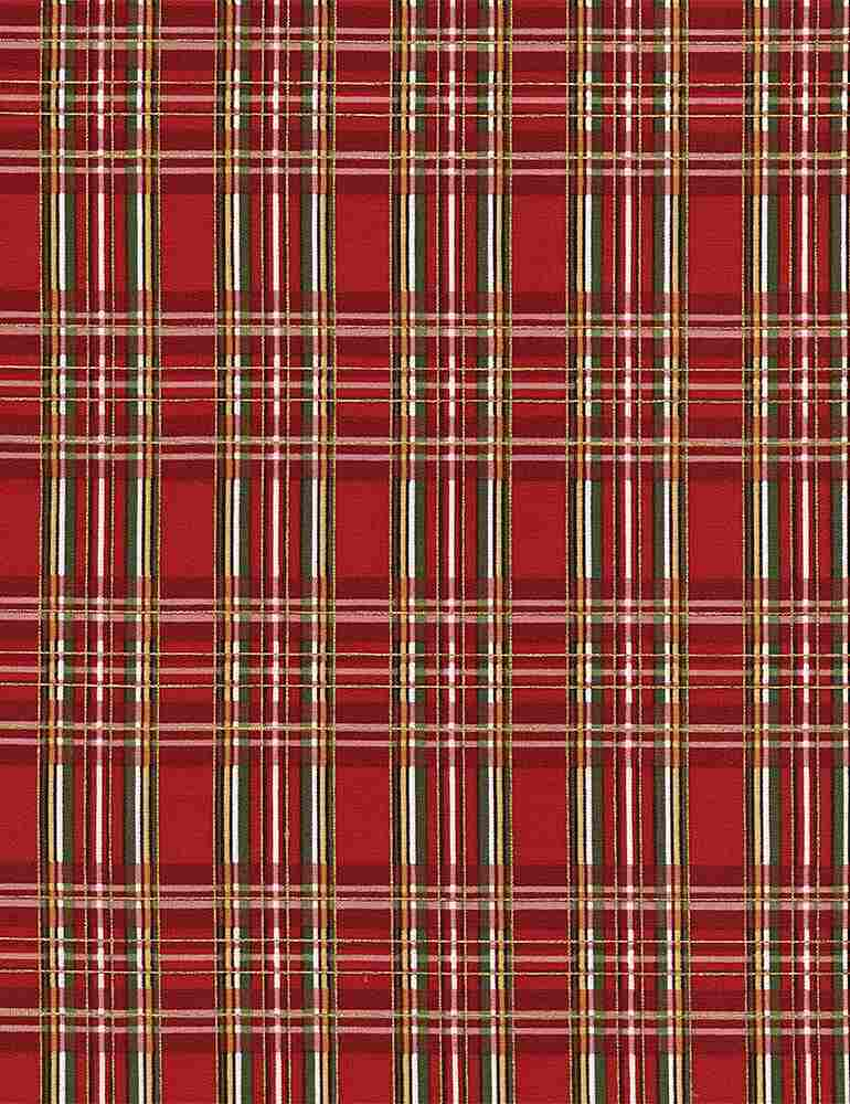 HOLIDAY-CM3286 / RED / PLAID