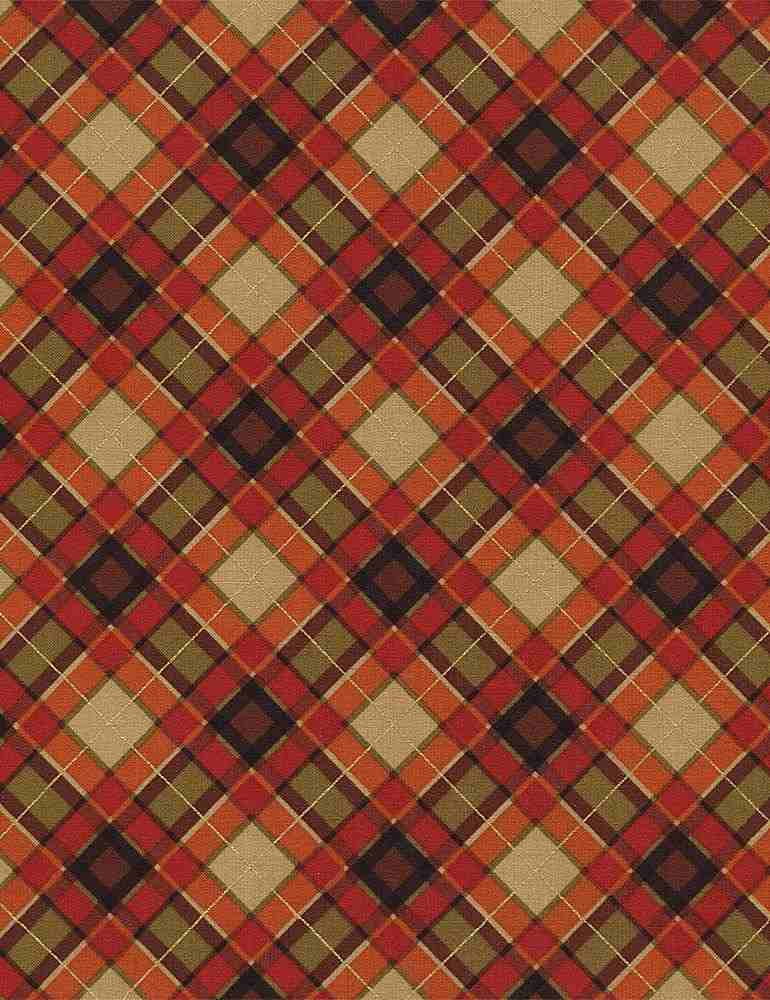 HOLIDAY-CM4277 / HARVEST / BIAS PLAID