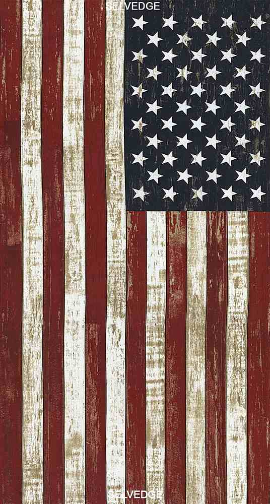 """USA-C5278/FLAG / 24""""AMERICANFLAGPANEL"""