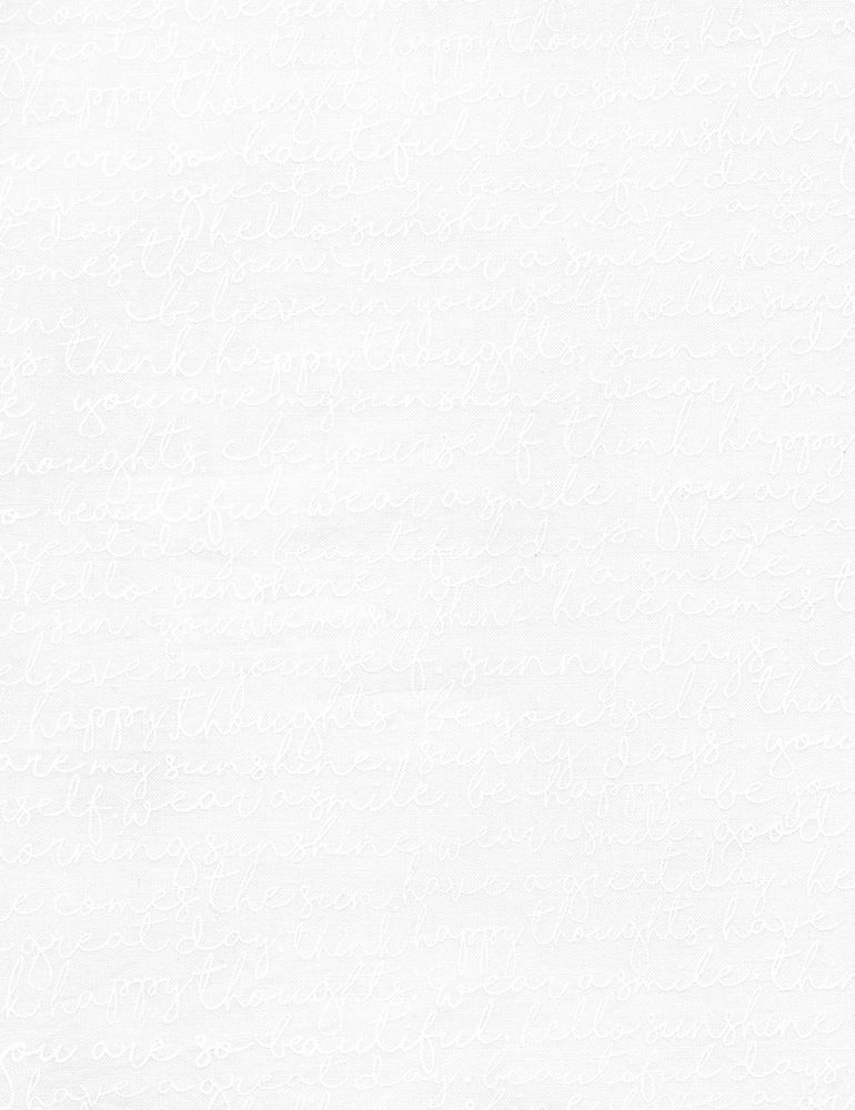 GAIL-C5495/WHITE / SCRIPT