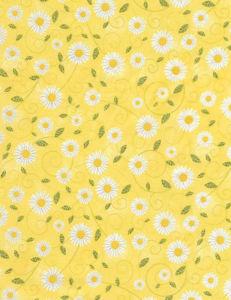 GAIL-C5498 / YELLOW / DAISY VINES