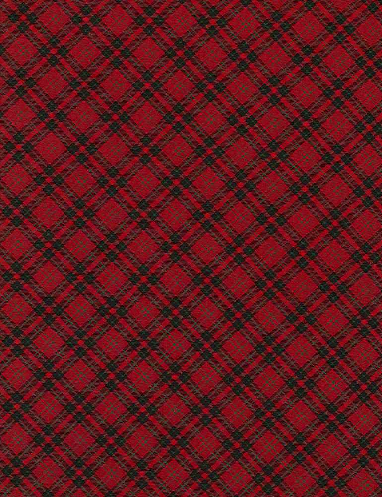 HOLIDAY-C5790 / RED / BIAS PLAID