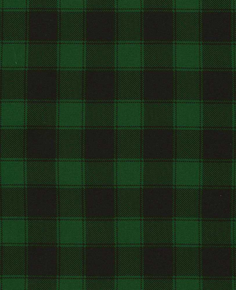 HOLIDAY-C5784/GREEN / BUFFALOCHECK