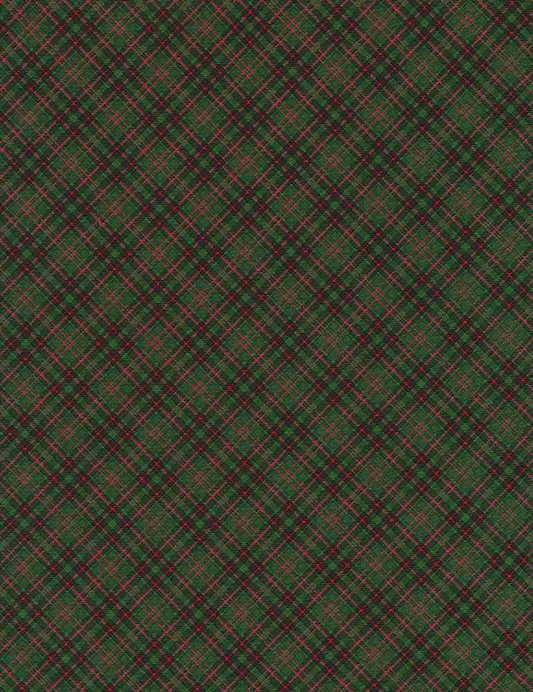 HOLIDAY-C5790 / GREEN / BIAS PLAID