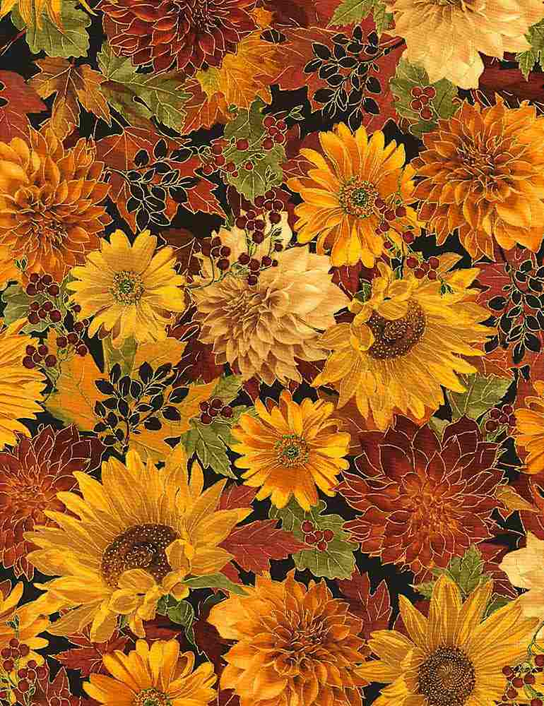 HARVEST-CM6140/AUTUMN / FLOWERS