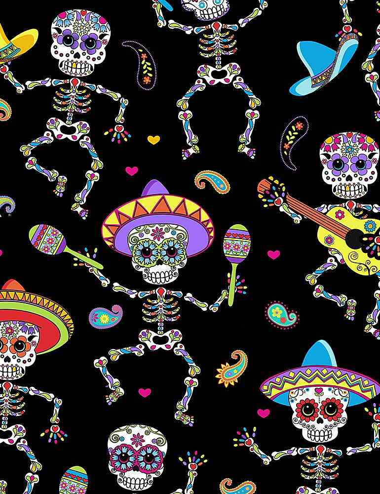 FUN-C6538 / BRIGHT / DANCING DAY OF THE DEAD