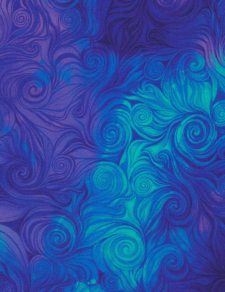 AWAKEN-CD6554 / BLUE / SWIRL