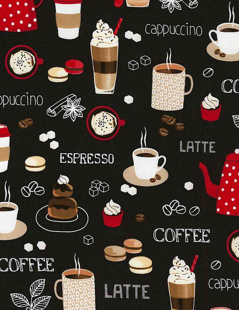 COFFEE-C6619/BLACK / COFFEEBREAK