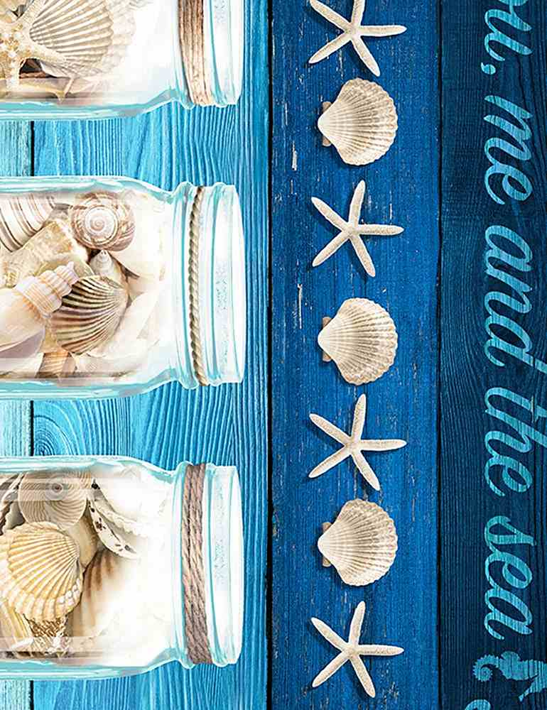 "BEACH-C6745 / BLUE / TAKE ME TO THE BEACH 11"" STRIPE"