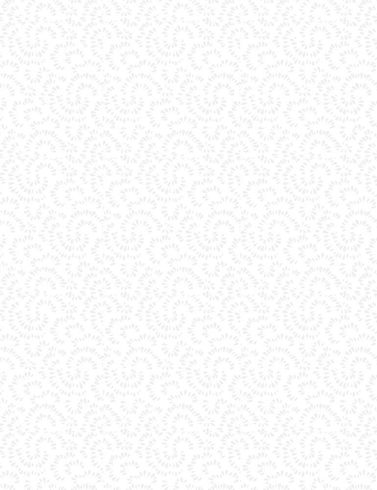 HUE-C7109/WHITE / RAINDROPS
