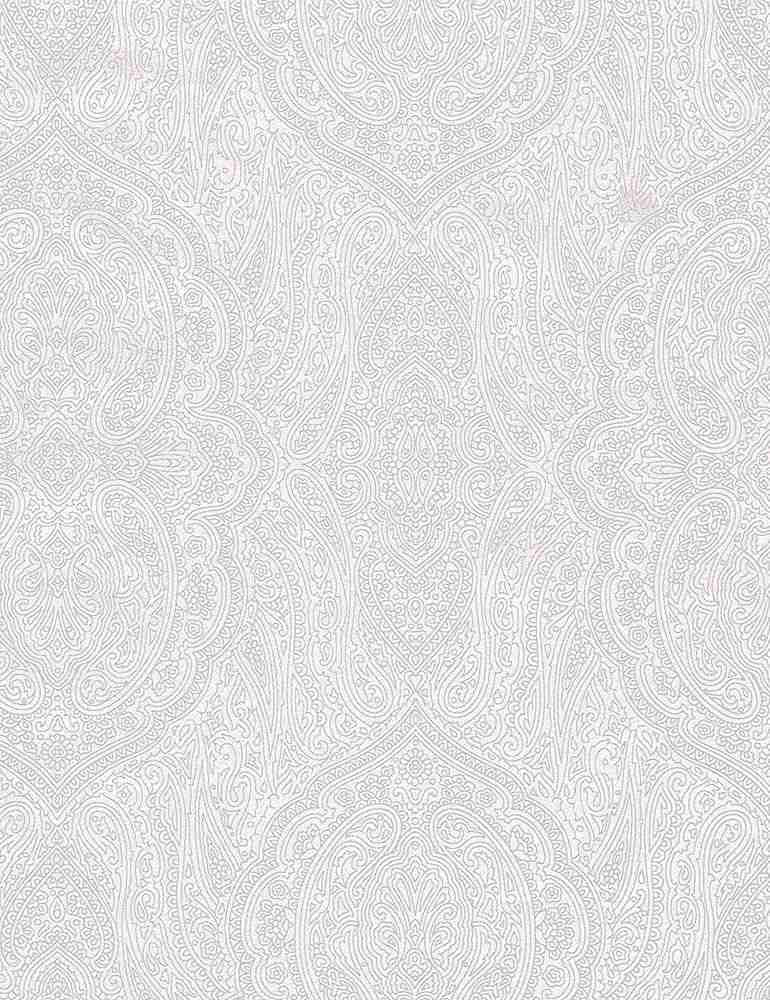 HUE-C7111/WHITE / PAISLEY