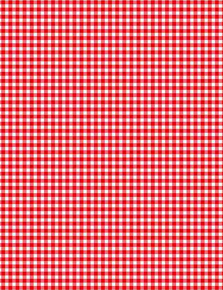 GINGHAM-C7345 / RED / GINGHAM PATTERN