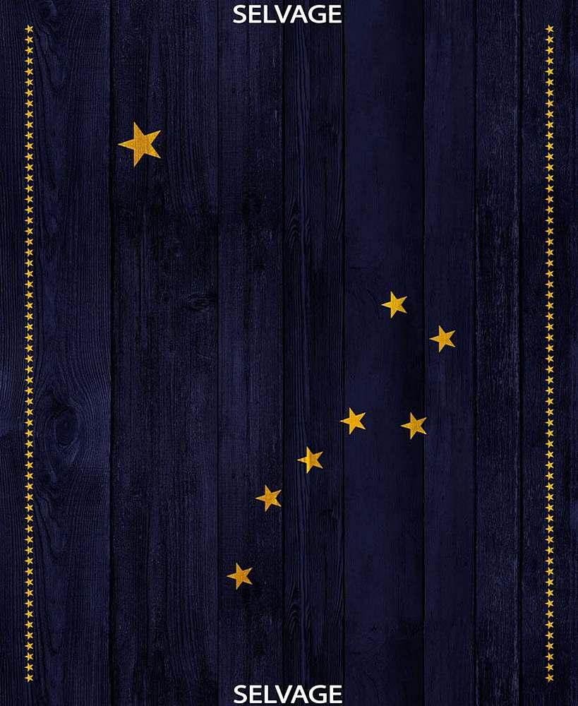 PANEL-C7341/BLUE / ALASKAFLAGPANEL