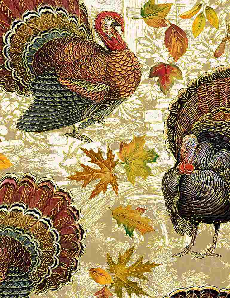 HARVEST-CM7658 / MULTI / HARVEST TURKEYS