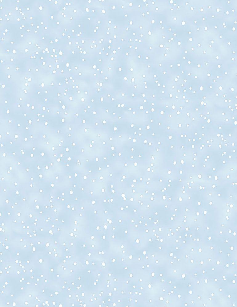 BUNNIES-CF7557/BLUE / SNOWING