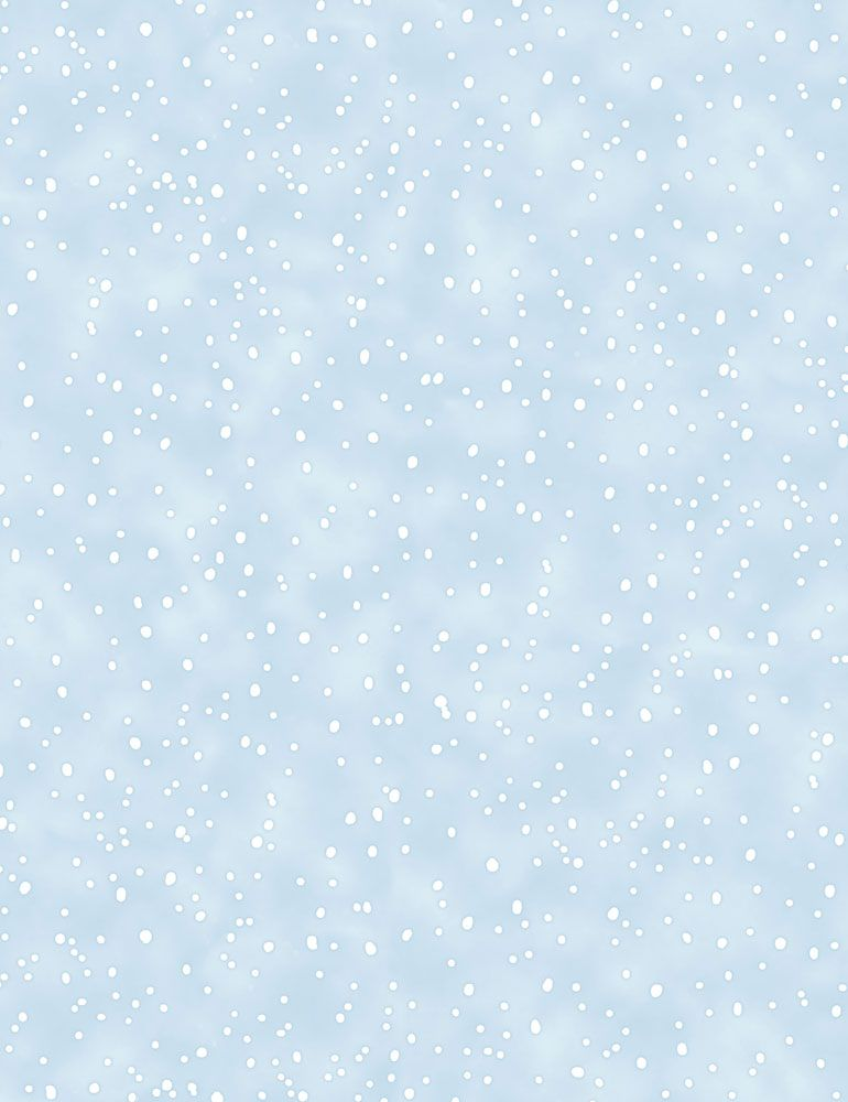 BUNNIES-CF7557 / BLUE / SNOWING