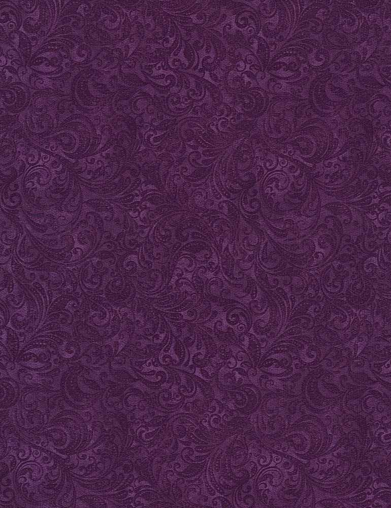 BELLE-C7800 / GRAPE / DELICATE FILAGREE