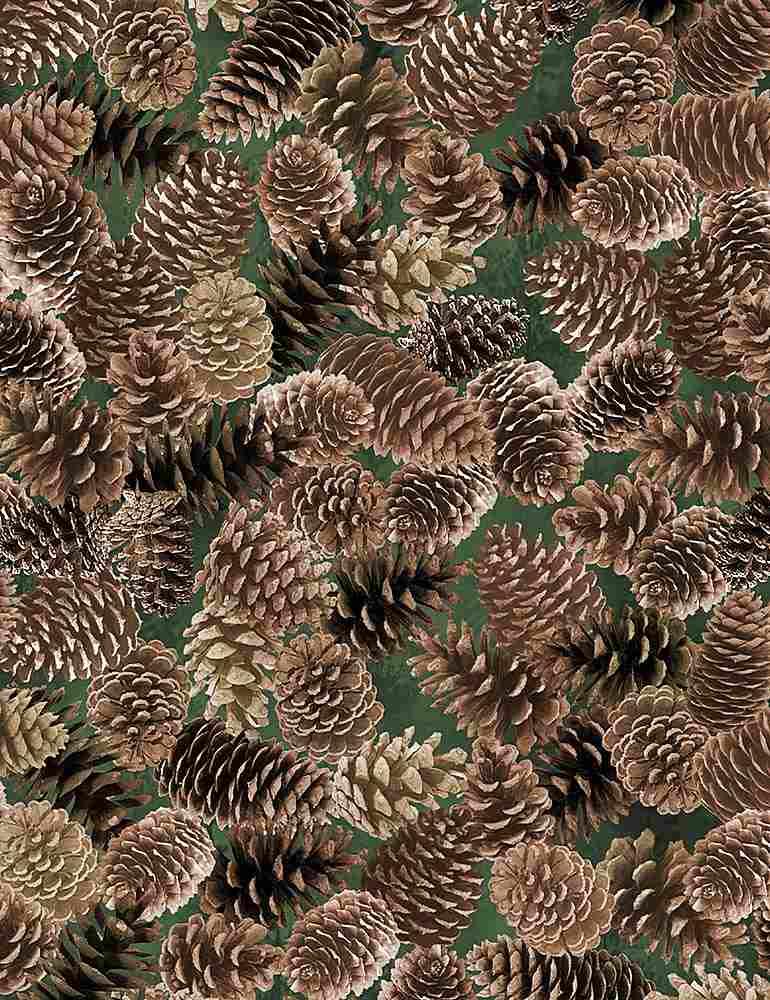 NATURE-CF7466/BROWN / PACKEDPINECONES