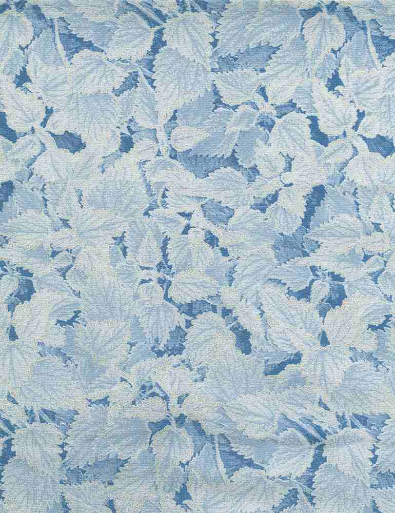 ICE-CM7830 / WHITE / METALLIC WINTER SMALL LEAVES