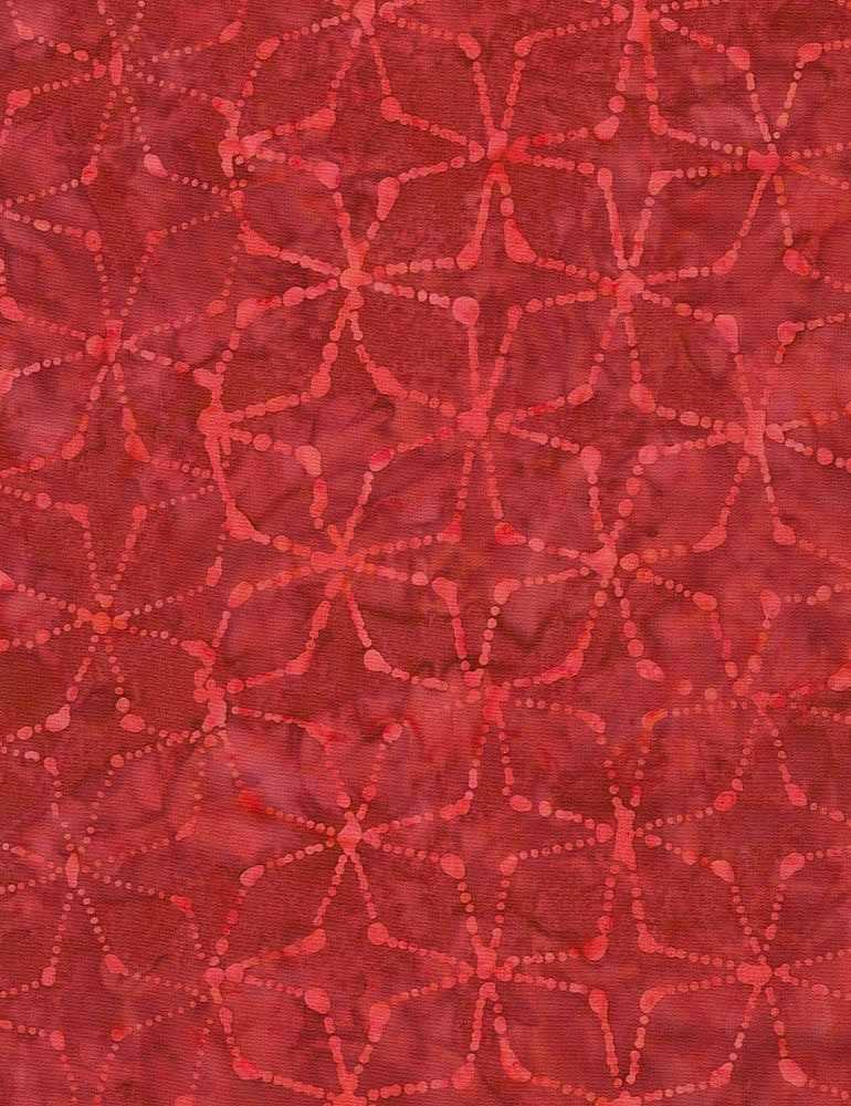 TONGA-B7843/RED / DOTTEDPINWHEELS