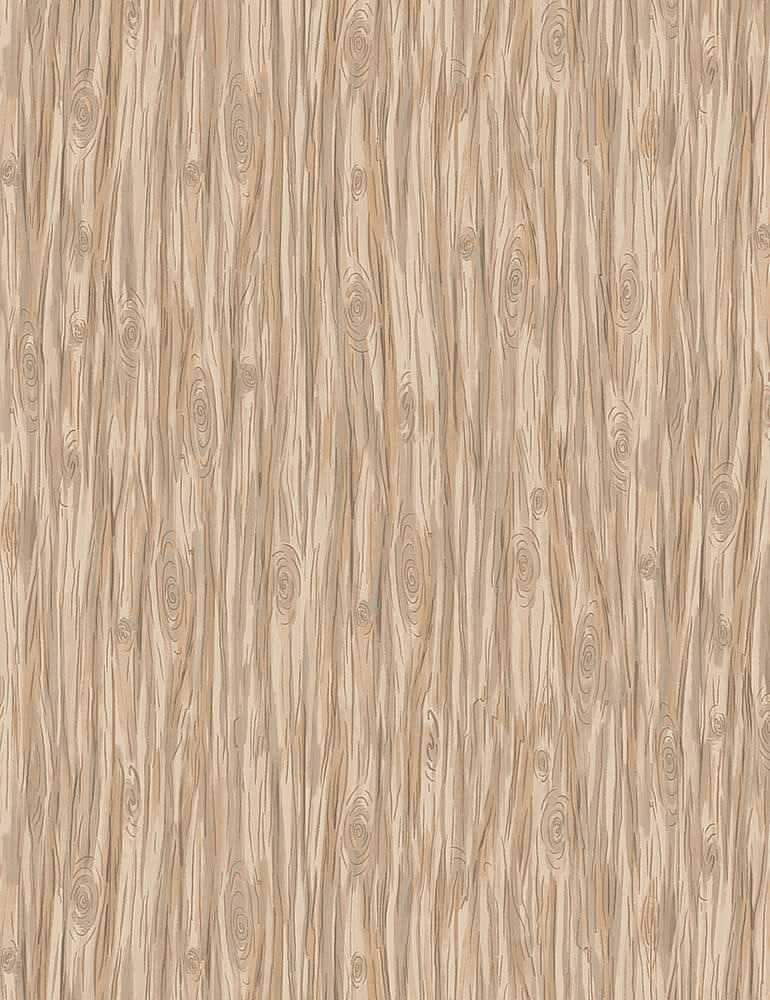 BUNNIES-C7559/TAN / WOODGRAIN