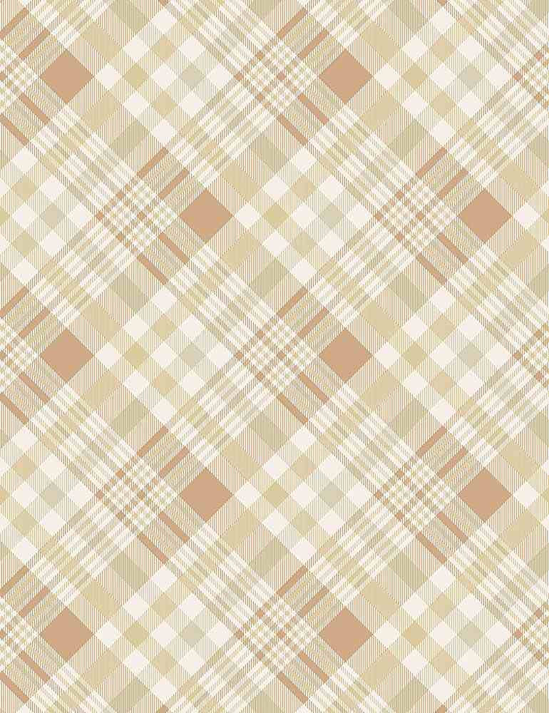 GAIL-C7867 / NATURAL / APPLE HARVEST BIAS PLAID