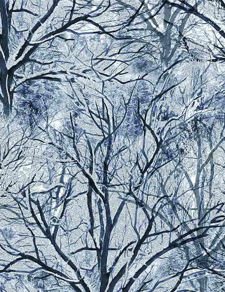 ICE-C7834 / WHITE / BARE TREES