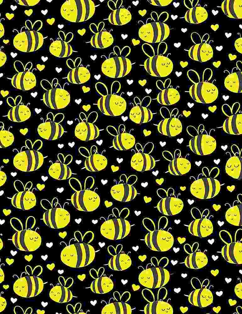BEE-C7855/BLACK / CUTEPLUMPBEES