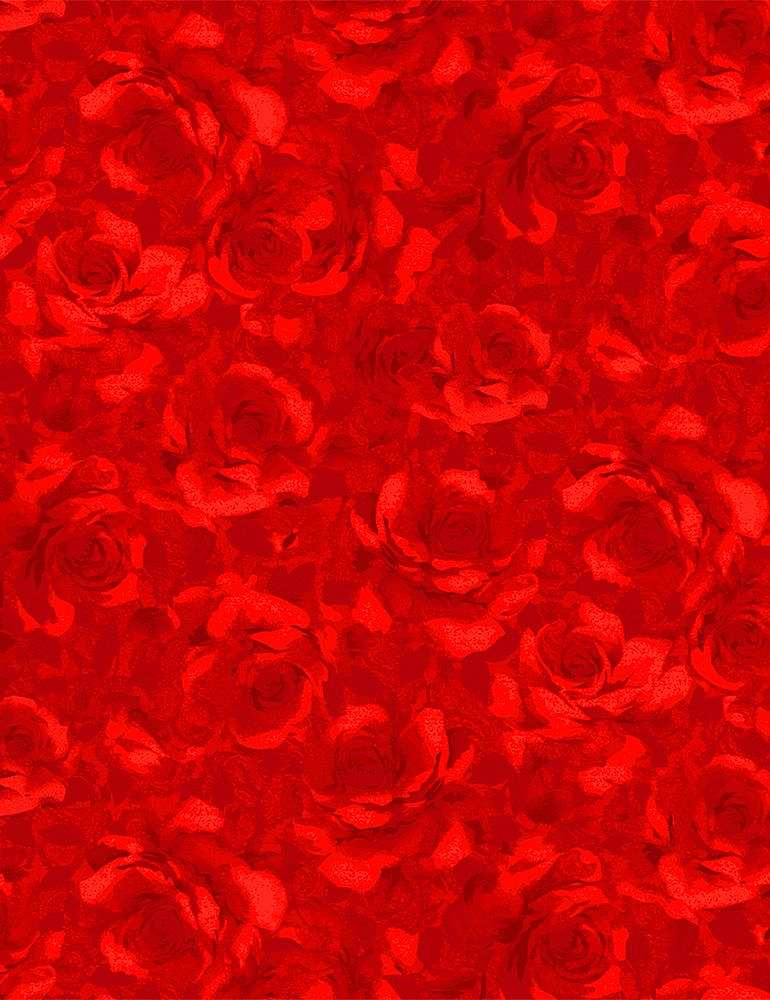 FLEUR-C7979 / RED / PACKED SHADOW ROSES