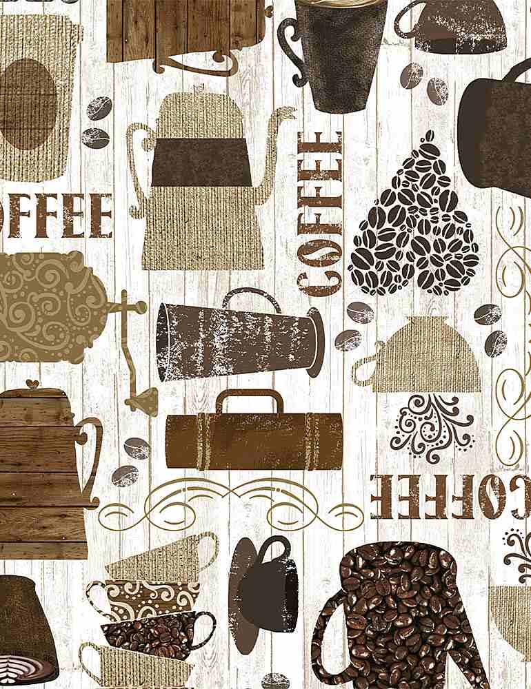 COFFEE-C7985/BROWN / KITSCHYCOFFEEMOTIFS