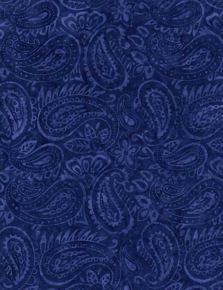 TONGA-B7916/BLUE / GROOVYPAISLEY