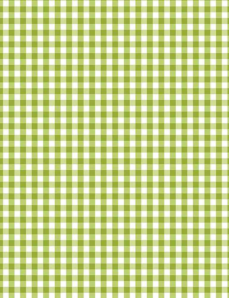 GINGHAM-C8026 / GREEN / SMALL GINGHAM