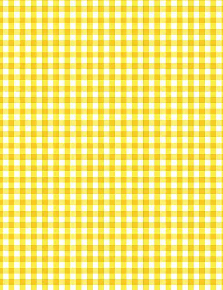 GINGHAM-C8026 / YELLOW / SMALL GINGHAM