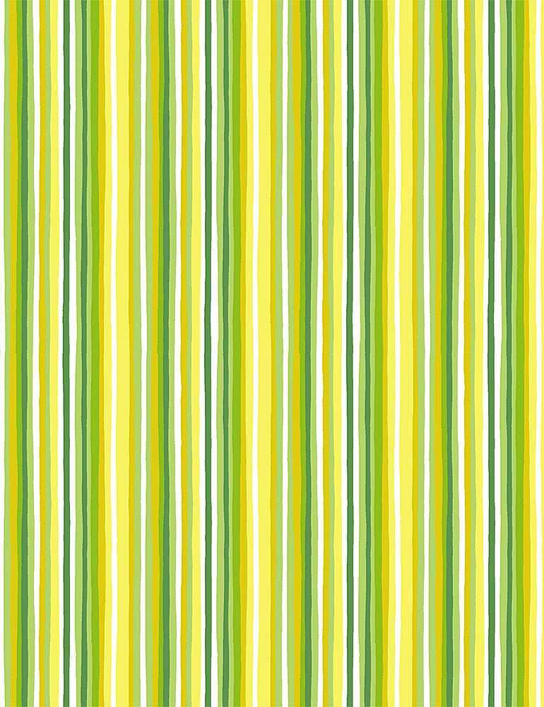STRIPE-C8027/GREEN / IMPERFECTSTRIPES
