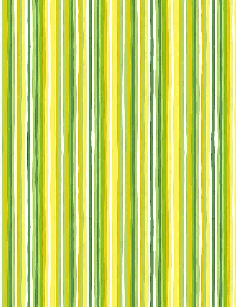 STRIPE-C8027 / GREEN / IMPERFECT STRIPES