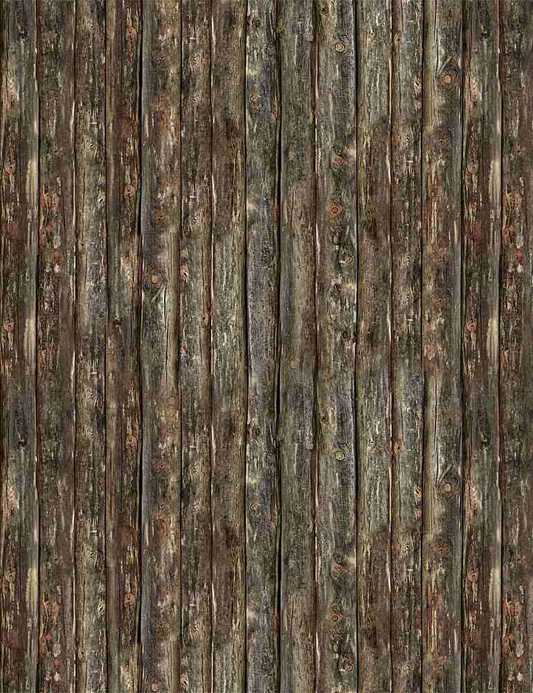 DARRELL-C8043 / BROWN / DARK WOOD SIDING