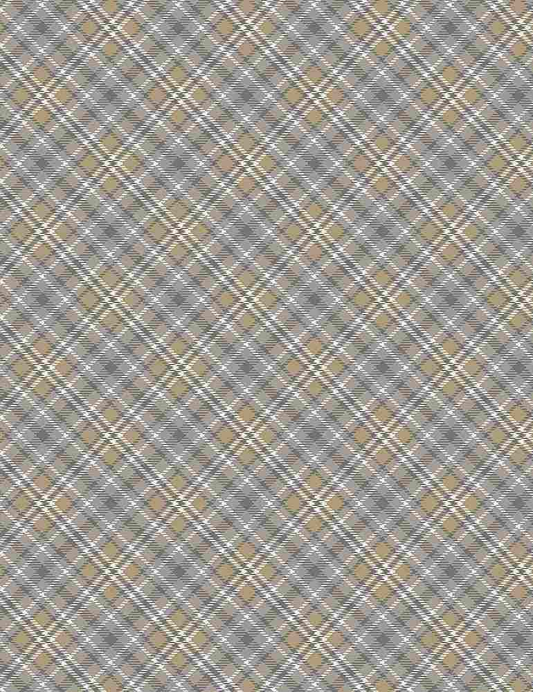 PLAID-CF7560 / GREY / WINTER DARK BIAS PLAID