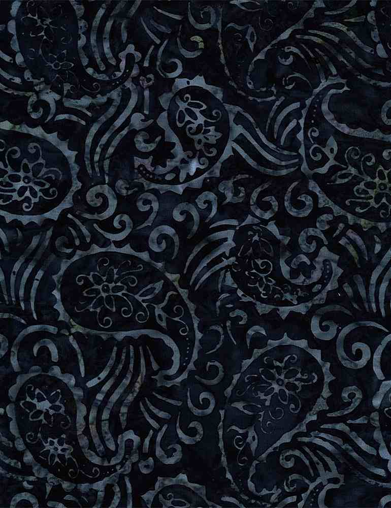 TONGA-B8178 / MIDNIGHT / PAISLEY IN THE WIND