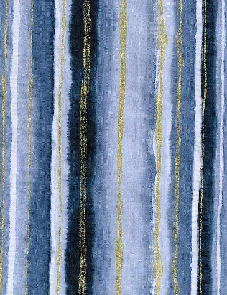 STRIPE-CM8160/BLUE / CITYWATERCOLORSTRIPE