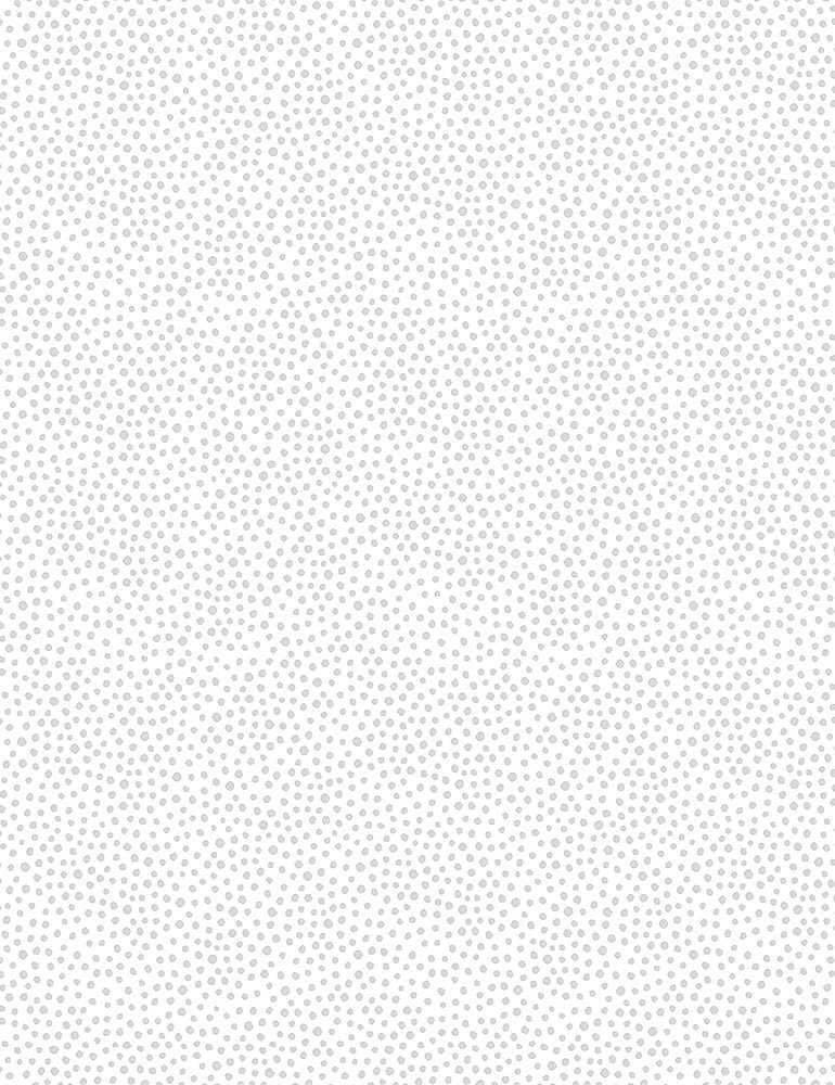 HUE-C8187/WHITE / CLUSTEREDDOTS