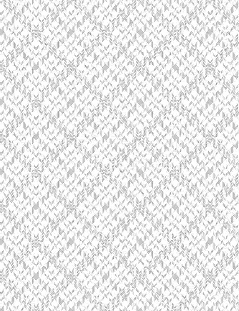 HUE-C8195/WHITE / BIASPLAID