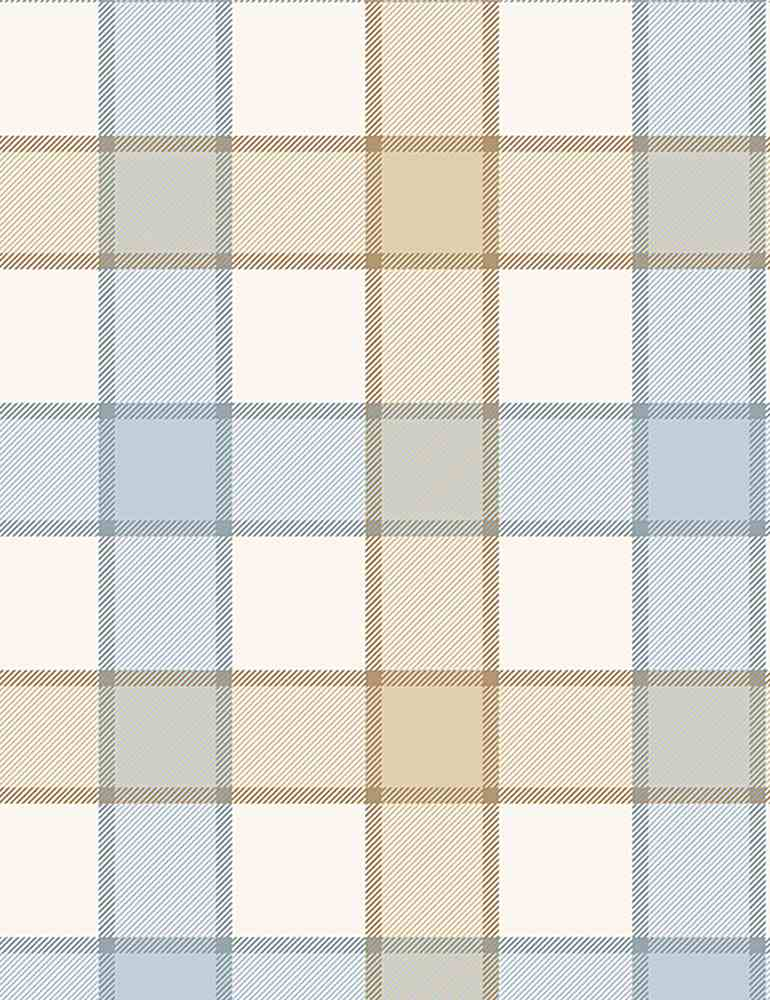 PLAID-C8132 / NATURAL / COTTON BIG PLAID