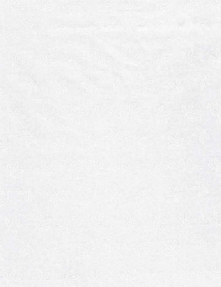 HUE-C8188/WHITE / DOODLEDLEAVES