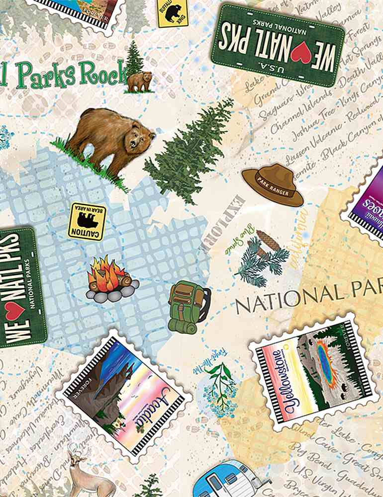 DEBRA-CD8243 / MULTI / NATIONAL PARKS