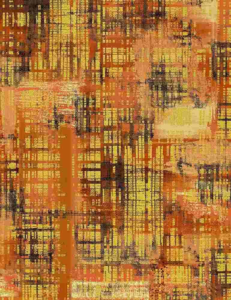 TEXTURE-CM8156/ORANGE / CITYBRUSHED