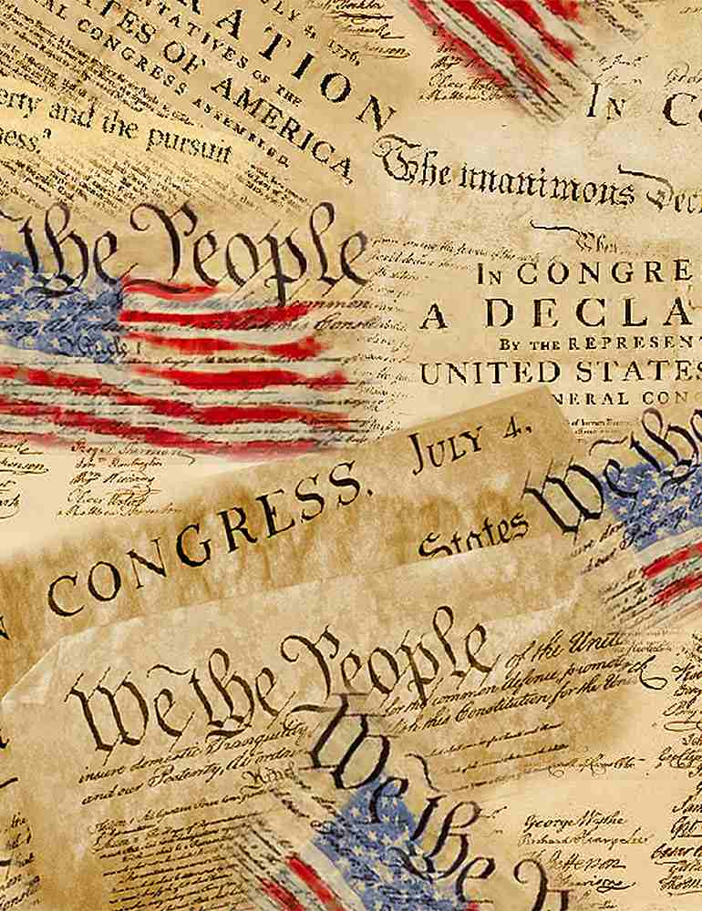 USA-C8320 / MULTI / DECLARATION OF INDEPENDENCE
