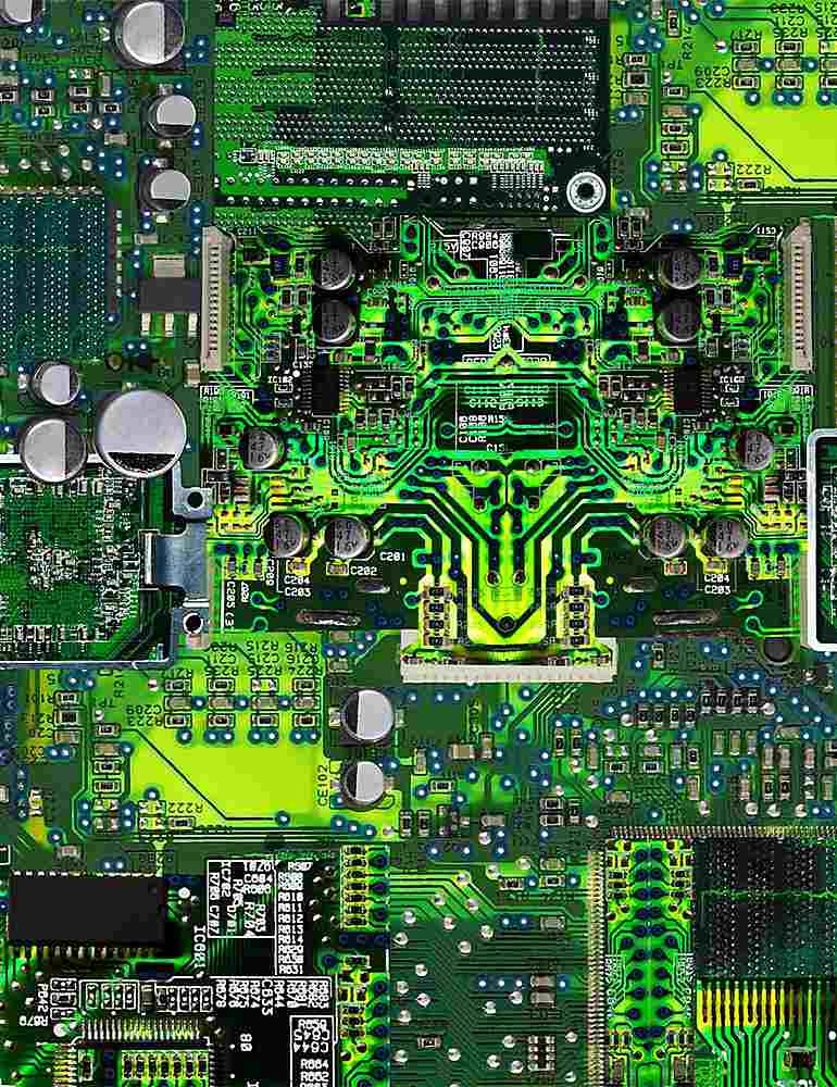 GAIL-C8326 / GREEN / CIRCUIT BOARD